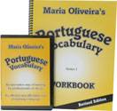 Portuguese Vocabulary workbook/CD cover